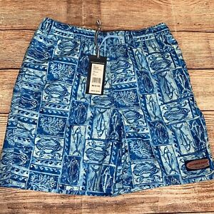 $60 VINEYARD VINES Chappy Swim Trunks SHARK CURACAO size 2T or 4T NWT