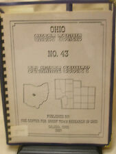 "1987 Book ""Ohio Ghost Towns No. 43 Delaware County"" Edited By Richard M Helwig"