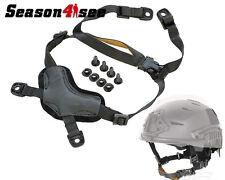 Outdoor Tactical Airsoft Helmet Suspension X-Nape TB956 For MICH Helmet Black