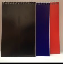 Notebook Spring 80 Sheet X 100 In 3 Colours