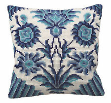 Collection D'Art Cross Stitch Cushion Kit: Zelliges (Right) CD5115