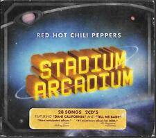 CD DIGIPACK ALBUM LIVE 28 TITRES--RED HOT CHILI PEPPERS--STADIUM ARCADIUM--2006