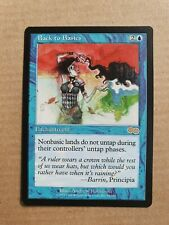 Back to Basics, MTG Urza's Saga (1998) Rare Blue Enchantment NM+