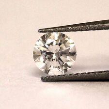 loose .70ct SI2 G CLARITY ENHANCED round diamond vintage estate antique