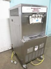 """""""Taylor Y754-33"""" Commercial 2Flavor+Twist Soft-Serve Ice Cream,3Ph, Water Cooled"""