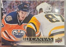 2018-19 Upperdeck series 2 C149 UD Canvas Connor McDavid Edmonton Oilers