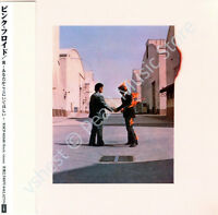 PINK FLOYD WISH YOU WERE HERE CD MINI LP OBI Gilmour Mason Barrett Waters Wright