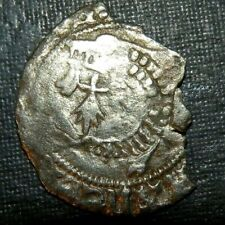 Medieval Silver Coin Lot 1200's Ad Crusader Templar Cross Ancient Barracuda Old