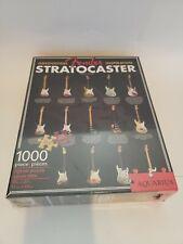 "FENDER Stratocaster Guitar 1000 piece Jigsaw Puzzle - Aquarius - 20"" x 27"" - NEW"
