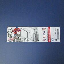 PATRICK ROY  2009 ticket  1986 Montreal Canadiens Calgary Flames Lanny McDonald