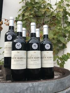 was für Genuß! 166WD Punkte 6x750ml Bordeaux Château HautBascIa 2018 Gold
