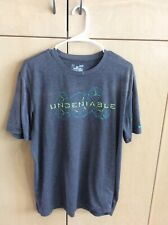Gray Under Armour Shorts Sleeve T-Shirt Men's Large
