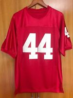 Forrest Gump #44 Football Jersey Stitched Tom Hanks Movie Throwback Red