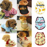 Pet Dog Clothes Puppy T Shirt Clothing For Small Dogs Chihuahua Vest Apparels