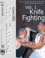 Barry Cuda Dynamic Kali 1 Knife Fighting Dvd jeet kune do filipino escrima arnis