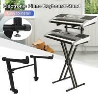 Adjustable Electronic Piano Keyboard Stand Instrument Holder Accessories