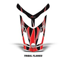 Ski Doo Rev XR GSX Summit Sled Sticker Decal Hood Graphic Kit 2013 TFLAME - RED