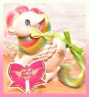 ❤️My Little Pony G1 Vtg Rainbow Ponies STARSHINE White Pegasus Star 1983❤️
