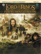 The Lord of the Rings Instrumental Solos for Strings: Violin (with Piano Accompaniment) von Howard Shore (2004, Taschenbuch)