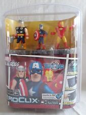 DC Comics Heroclix TabApp Marvel Super Heros Iron-Man Thor Captain America