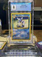Pokemon Game CGC 9 MINT Base set 2 Wartortle #63 Card 2000 - PSA BGS