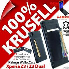 Krusell Kalmar Funda Tipo Cartera Libro Para sony Xperia Z3/Z3 Dual