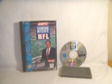 ESPN Sunday Night NFL (Sega CD, 1994) complete