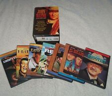 JOHN WAYNE DVD BOXED SET – 7 DVD's - True Grit plus many more - New