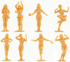 "Marx Recast 60mm ""Louie's Beauties"" - 8 in al 8 poses - 1990s production"