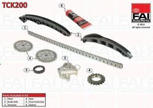 Timing Chain Kit FOR VW POLO 60bhp V 1.2 09->17 6C1 6R1 CGPB Petrol FAI