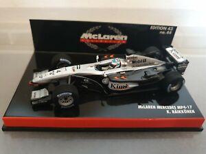 McLAREN MERCEDES MP4-17 GP 2002 K. RAIKKONEN MINICHAMPS 1:43 530 024304