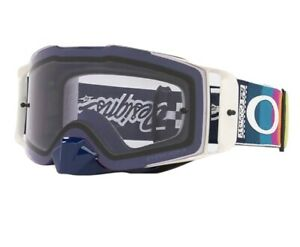 New Oakley Front Line MX Goggles Troy Lee Designs Graph White -  Prizm Low Light