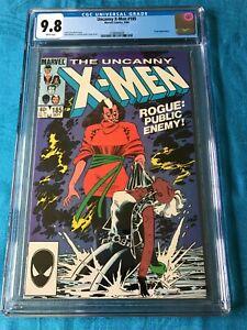 Uncanny X-Men #185 - Marvel - CGC 9.8 NM/MT - Claremont - Rogue