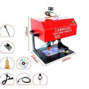 170*110 mm Pneumatic Nameplate Marking Machine Metal Marking Machine For Steels