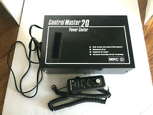 HO N OR G SCALE - MRC DC CONTROL MASTER 20 POWER CENTER