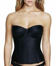 Dominique BLACK Juliette Strapless Longline Corset, US 40B