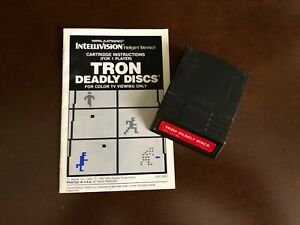 TRON Deadly Discs for Intellivision  from Mattel Electronics - no box