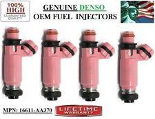 4x Fuel Injectors -02-06 Subaru Impreza 2L 2.5L H4 TURBO! OEM DENSO #16611-AA370
