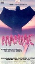 MANIAC (VHS)