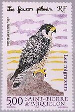 ST. PIERRE MIQUELON SPM 1997 726 C73 Mirgratory Birds Zugvögel Vögel Fauna MNH