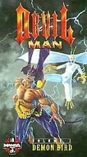 Devilman Vol. 2 Siren, the Demon Bird Dub [VHS], Good VHS, ,