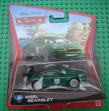 Disney Pixar Cars 2 Nigel Gearsley #20 Hard to find!