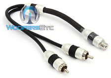 Stinger SI82YM 2 Channel 8000 Series RCA Y Adapter Cable