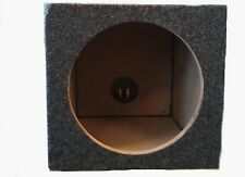 CAR AUDIO SINGLE 10 INCH SUB BOX WOOFER SUBWOOFER SEALED ENCLOSURE CARPETED
