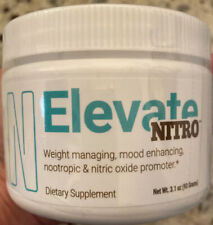 ELEVATE NITRO INFUSED SMART COFFEE 30 Day Supply Free and Fast Shipping!