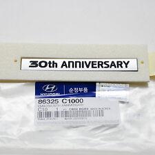 86325-C1000 Genuine Parts Hyundai SONATA(2014~ )/LF, 30TH ANNIVERSARY  Emblem