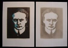 Extremely Limited & Scarce Houdini Print. Signed!