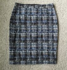 J CREW NO. 2 PENCIL SKIRT IN GILDED TWEED 47737 SZ 6 $148