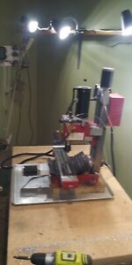 cnc milling machine 3 axis Harbor Freight converted minimill full CNC with tools