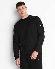 Lyle and Scott Mens Pocket Crew Neck Sweatshirt